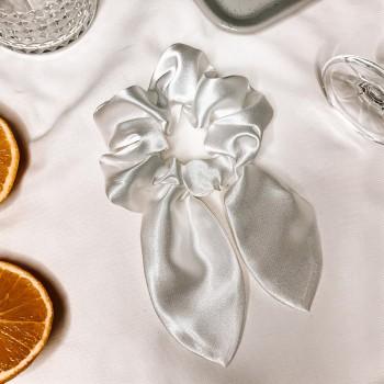 Off-White Bow Scrunchie - gumka do włosów