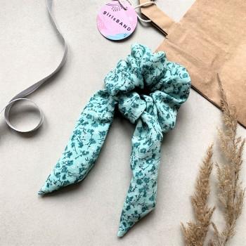 Lea Sage Bow Scrunchie - gumka do włosów