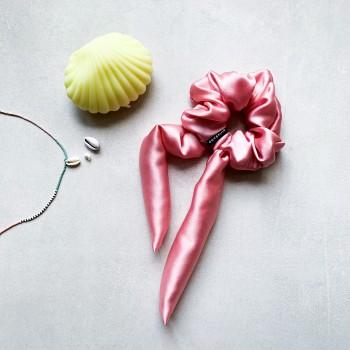 Candy Silk Bow - jedwabna gumka ze wstążką