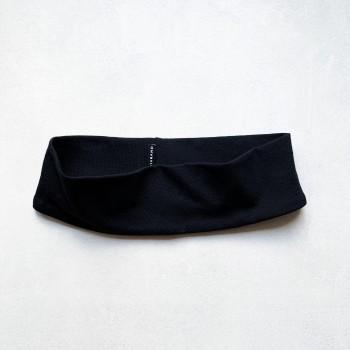 Black Jersey Headband - opaska do włosów
