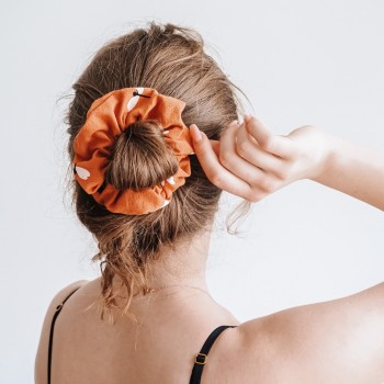 Dragonfly Papaya Scrunchie - gumka do włosów