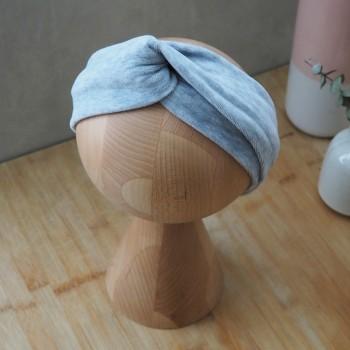 Melange Velvet Turban - opaska do włosów